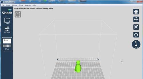 Impresión 3DWOXDesktop