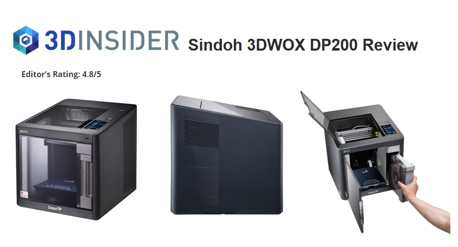 3Dinsider.com - Sindoh 3DWOX DP200 Review