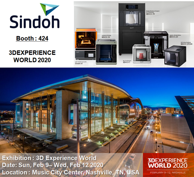 [Invitation] Welcome all to 3D Experience World 2020, Nashville, TN, USA   Feb. 9th to 12th, 2020