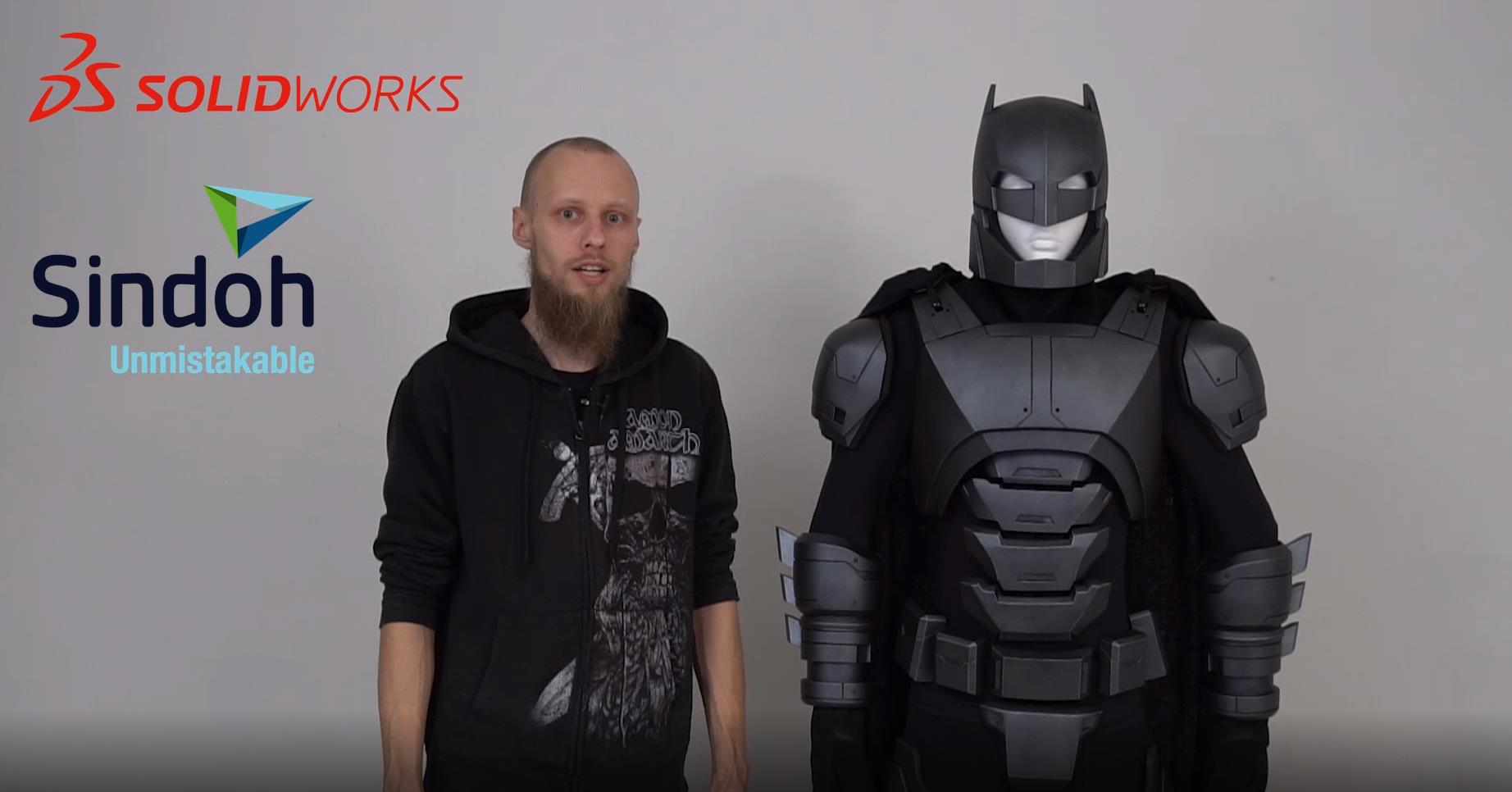 'Batman Armor' Making Video