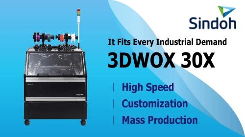 Sindoh New Industrial FFF 3D Printer - 3DWOX 30X