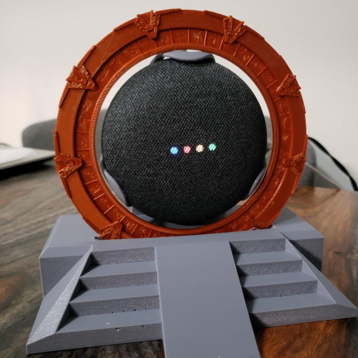 Google Mini StarGate Display1